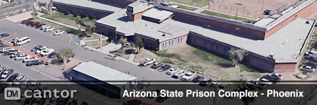 Aerial View of Arizona State Prison Complex in Phoenix