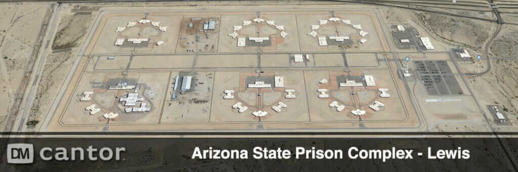Aerial View of Lewis Prison Complex in Arizona.